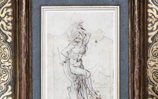 Το σχέδιο του Αγίου Σεβαστιανού αποδόθηκε χωρίς καμία αμφιβολία στον Λεονάρντο ντα Βίντσι.