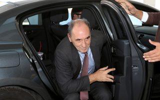 Ο υπουργός Ενέργειας Γ. Σταθάκης συναντήθηκε χθες με τους θεσμούς.