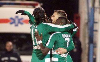 Ο Παναθηναϊκός βρέθηκε πίσω στο σκορ με 2-0, οι οπαδοί του αποχώρησαν στο ημίχρονο, όμως η ομάδα του Ουζουνίδη απάντησε στο β΄ μέρος και με 4 γκολ πήρε μια ανέλπιστη πρόκριση στη Ριζούπολη.
