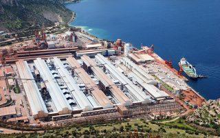 Στόχος του ομίλου Μυτιληναίου είναι η υλοποίηση των αλλαγών να έχει ολοκληρωθεί έως τον Αύγουστο του 2017. Στη φωτογραφία, μονάδα της Αλουμίνιον της Ελλάδος.