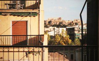 Θέα προς την πλατεία Κουμουνδούρου. Φωτογραφία του Μαρίνου Πασχαλούδη.