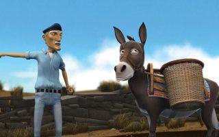 Στη «Μαρίζα» (2008) του Κ. Κρυστάλλη, ένας ψαράς προσπαθεί να πείσει τον χαριτωμένο γάιδαρό του να ανεβεί μια ανηφόρα και κερδίζει τους θεατές.
