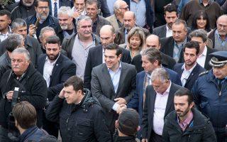 Ο πρωθυπουργός Αλ. Τσίπρας αναφέρθηκε, χθες, από την Κρήτη, στον καθοριστικό ρόλο που μπορεί να διαδραματίσει ο πρωτογενής τομέας της αγροτικής παραγωγής στην παραγωγική ανασυγκρότηση της χώρας.