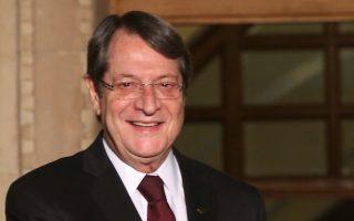 Αδύνατη η εξεύρεση λύσης στο Κυπριακό με στρατούς και εγγυήσεις, είπε ο κ. Αναστασιάδης.