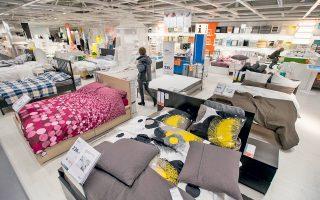 Ενα από τα αχανή καταστήματα της αλυσίδας IKEA στην πόλη Ντελφτ της Ολλανδίας, τον Μάρτιο του 2016.
