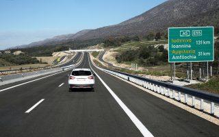 Είκοσι έξι χιλιόμετρα δρόμου δόθηκαν χθες στην κυκλοφορία.