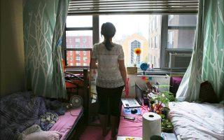 Συνθήκες σύγχρονης δουλείας σε στούντιο πεντικιούρ, όπως περιγράφει η Κινέζα της φωτογραφίας.