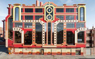 Kτίριο του Freddy Mamani φωτογραφημένο από τον Peter Granser.