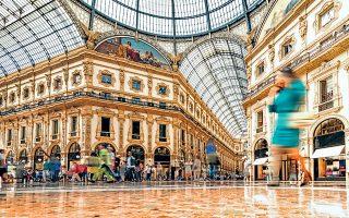 1. The Galleria Vittorio Emanuele II, Μιλάνο (Φωτογραφία: GETTY IMAGES/IDEAL IMAGE)