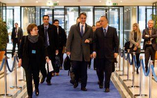 Φωτογραφία από παλαιότερη επίσκεψη του κ. Μητσοτάκη στις Βρυξέλλες
