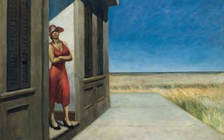 Στο τέλος της έκθεσης στο Βιτοριάνο υπάρχει μια τοιχογραφία έργου του Εντουαντ Χόπερ, με τίτλο «South Carolina Morning» (1955).