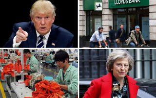Αν ο Τραμπ προχωρήσει σε επιβολή δασμών 45% στις εισαγωγές κινεζικών προϊόντων, θα κηρύξει ανοικτό εμπορικό πόλεμο με την Κίνα, σε μια στιγμή που η δεύτερη οικονομία στον κόσμο προχωράει σε μαζικές πωλήσεις ομολόγων του αμερικανικού Δημοσίου για να περιφρουρήσει το νόμισμά της.