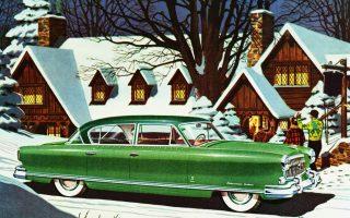 Χιονισμένα Χριστούγεννα στην Αμερική του '50. Ακόμη και το μικρότερο πλάσμα αφήνει ίχνη στο χιόνι, τρέφοντας τη φαντασία.