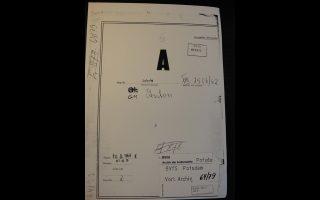 Εγγραφα της ΣΤΑΖΙ για τον ρόλο του Anton στην Ανατολική Γερμανία.
