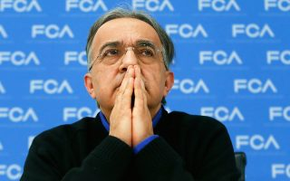 Σε δύσκολη θέση είναι ο διευθύνων σύμβουλος της Fiat Chrysler Σέρτζιο Μαρκιόνε.
