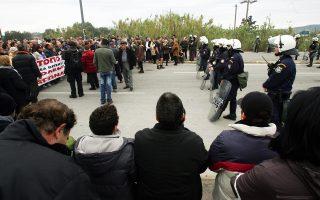 Οι κινητοποιήσεις των κατοίκων άρχισαν τον Δεκέμβριο του 2010, ενώ δεν έλειψαν τα επεισόδια και οι καταστροφές μηχανημάτων.