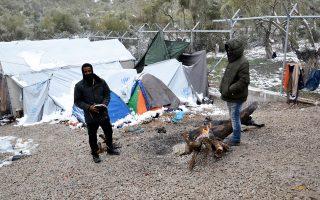 Ο αντιπρόσωπος της Υπατης Αρμοστείας, κ. Λέπρι, επέρριψε στο υπ. Μεταναστευτικής Πολιτικής την ευθύνη για τις κακές συνθήκες στο hotspot.