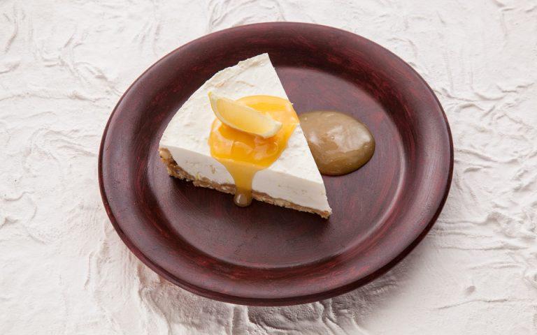 Cheesecake λεμόνι, με γιαούρτι