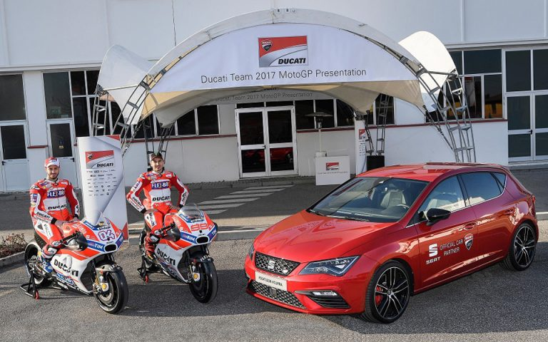 Η SEAT και η Ducati πατούν τέρμα το γκάζι