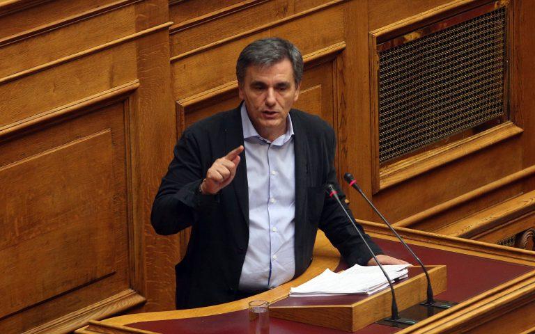 Τσακαλώτος: «Τα μέτρα θα ενεργοποιηθούν μόνο αν δεν επιτευχθούν οι στόχοι»