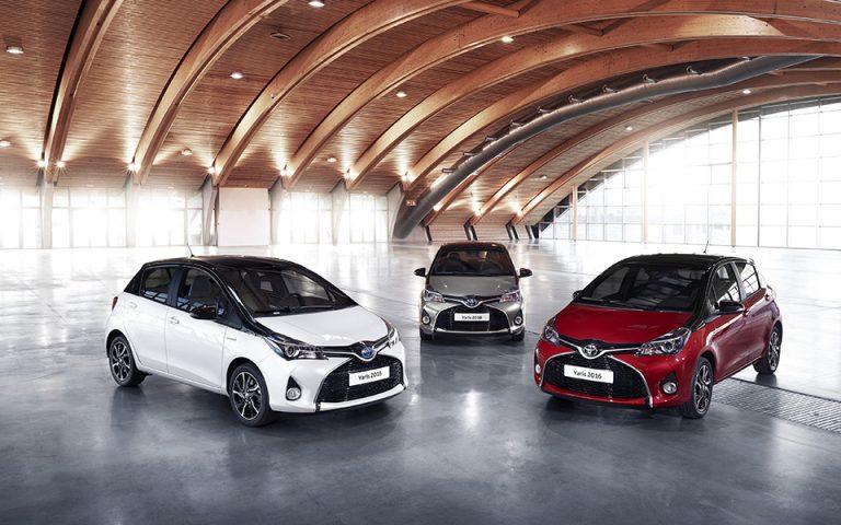Η Toyota στην 1η θέση σε πωλήσεις στην Ελληνική αγορά και το 2016