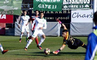 O Kλωναρίδης επέστρεψε με γκολ στον Παναθηναϊκό, ο οποίος προκρίθηκε εύκολα στην προημιτελική φάση του Κυπέλλου Ελλάδος.