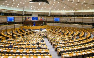 Γενική άποψη του Ευρωκοινοβουλίου στις Βρυξέλλες κατά τη χθεσινή Ολομέλεια.