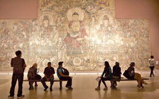 Η είσοδος της Πτέρυγας Ασιατικής Τέχνης του Μητροπολιτικού Μουσείου της Νέας Υόρκης.