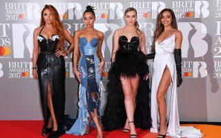 Οι Little Mix έφτασαν στο πόντιουμ με καθυστέρηση γιατί δεν περίμεναν να βραβευθούν.