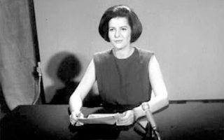 Η Ελένη Κυπραίου παρουσίασε την πρώτη εκπομπή της ελληνικής τηλεόρασης, στις 23 Φεβρουαρίου 1966.