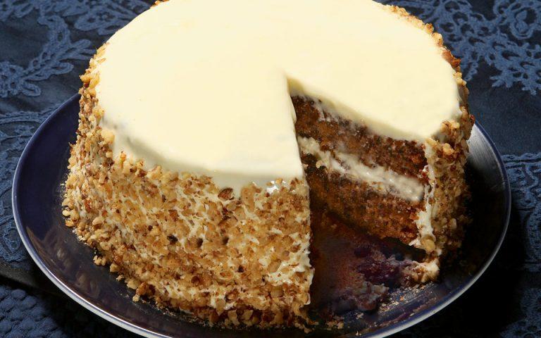 Κάροτ κέικ με κρέμα