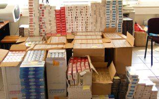 Περί τα 20 εκατομμύρια πακέτα τσιγάρα βρέθηκαν στο ένα «ψαράδικο» που βρίσκεται σήμερα στην Παλαιόχωρα Χανίων.