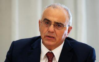 Ο πρόεδρος της Eurobank και της Ελληνικής Ενωσης Τραπεζών Ν. Καραμούζης.