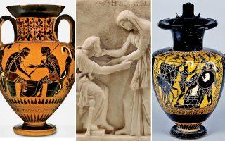 Πάνω από 130 εκθέματα από την Ελλάδα και διάφορα άλλα μουσεία ταξιδεύουν ώς την άλλη όχθη του Ατλαντικού για να «εικονογραφήσουν» τα συναισθήματα των αρχαίων.