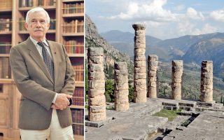 Ο εφοπλιστής Πάνος Λασκαρίδης κληρονόμησε την αγάπη για τα γράμματα και τις επιστήμες από τους γονείς του. Το Ιδρυμα που δημιούργησε διακρίνεται στους τομείς της εκπαίδευσης και του πολιτισμού. Η εφαρμογή topostext συνδέει αρχαιολογικές τοποθεσίες με την αρχαία ελληνική γραμματεία.