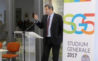Ο ιστορικός Κώστας Π. Κωστής εγκαινίασε τον φετινό κύκλο ομιλιών του Studium Generale στη Ρόδο, θεσμού πλέον εδώ και πέντε χρόνια.