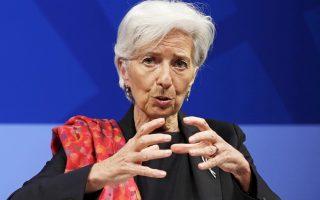 Η επικεφαλής του Διεθνούς Νομισματικού Ταμείου Κριστίν Λαγκάρντ.