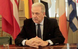 Ο επίτροπος Μετανάστευσης Δ. Αβραμόπουλος τόνισε χθες ότι η Ευρώπη θα προσφέρει προστασία σε εκείνους που την έχουν ανάγκη.