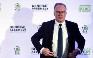 Ο πρόεδρος της ECA, Καρλ-Χάινς Ρουμενίγκε βρέθηκε στην Αθήνα και υποστήριξε ότι με τις αλλαγές που προωθούνται θα υπάρξει μεγιστοποίηση στα οφέλη των μεσαίων κλαμπ. Η πραγματικότητα όμως δεν είναι τόσο ευχάριστη...