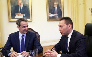 Την ανησυχία του ότι μπορεί να χαθεί το ορόσημο της 7ης Απριλίου εξέφρασε ο Γ. Στουρνάρας στον Κυρ. Μητσοτάκη, στη χθεσινή τους συνάντηση.