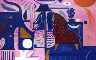 Λεπτομέρεια έργου του Αντωνάκη που παρουσιάζεται στο IFAC Arts.