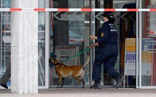 Ερευνες πραγματοποιήθηκαν στο δημαρχείο της μικρής πόλης Γκαγκενάου έπειτα από τηλεφώνημα-φάρσα για τοποθέτηση βόμβας.