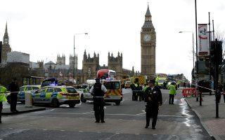 Πρωτοφανή μέτρα ασφαλείας μετά την επίθεση στο Λονδίνο.