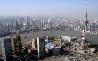 Η Σαγκάη είναι η δημοφιλέστερη πόλη της Ασίας για την πραγματοποίηση επενδύσεων.