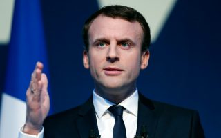 Ο ανεξάρτητος κεντρώος υποψήφιος Εμανουέλ Μακρόν