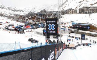 To χιονοδρομικό κέντρο της πόλης Τιν που επλήγη από χιονοστιβάδα την Τρίτη
