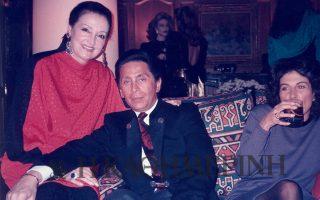 H Ελίζα με τον Valentino