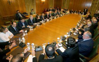 Την προσεχή Δευτέρα συγκαλείται το υπουργικό συμβούλιο, με θέμα το σχέδιο παραγωγικής ανασυγκρότησης της χώρας.