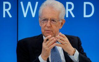 «Είμαι πολύ ανήσυχος για την αυξανόμενη τάση των εθνικών κυβερνήσεων να καταφέρονται κατά της Ενωσης», τονίζει στην «Κ» ο Μάριο Μόντι.
