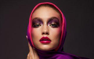 H 21χρονη Τζίτζι Χαντίντ ποζάρει στις σελίδες και στο πρώτο εξώφυλλο της Vogue Arabia.